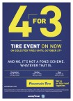 TIRE EVENT ON NOW ON SELECTED TIRES at Fountain Tire