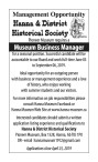 Pioneer Museum requires a Museum Business Manager