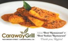 Caraway Grill Voted Best Restaurant and Best Indian Restaurant