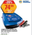 NAPA BATTERY CHARGERS COMPUTER-CONTROLLED BATTERY BENCH CHARGER