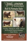 JONOMN Hereford Ranch  Bull & Female Sale