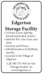 Edgerton Storage Facility