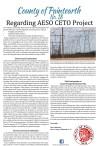 Regarding AESO CETO Project