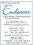 You Can Count On  Endeavor CHARTERED PROFESSIONAL ACCOUNTANTS