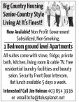 Big Country Housing Senior-Country Style Living At It's Finest!