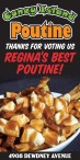 THANKS FOR VOTING Coney Island Cafe REGINA'S BEST POUTINE