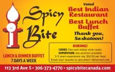 Spicy Bite  Voted Best Indian Restaurant