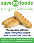 Save on foods Going the extra mile