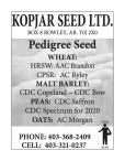 Pedigree Seeds from KOPJAR SEED