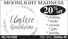 Elmtree Healthstore Black Friday to Moonlight Madness