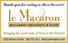 Thank you for voting us Best Dessert!
