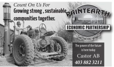 Count On Paintearth Economic Partnership For Growing strong, sustainable communities together.