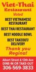 Thank You from VietThai Restaurant