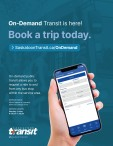 On-Demand Transit is here! Book a trip today.