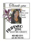 Filipenko Bros Thanks Tina for Her Hard Work