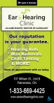 Ear & Hearing Clinic: Our reputation is your guarantee.
