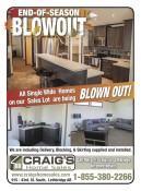 Craig's Home Sales END-OF-SEASON BLOWOUT