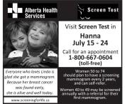 Mammogram Screening with Alberta Health Services