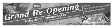CHECKER'D FLAG SPORTS Grand Re-Opening