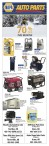 NAPA  AUTO PARTS  UP TO 70% OFF THIS MONTH!