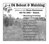 C4 Bobcat & Mulching