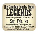 The Canadian Country Music Legends