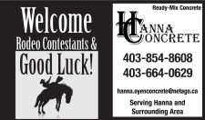 Welcome Rodeo Contestants & Good Luck!