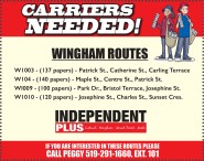 Carriers Needed for the Independent Plus