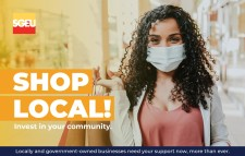 SHOP LOCAL! Invest in your community.