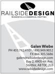 RAILSIDE DESIGN RESIDENTIAL & COMMERCIAL DRAFTING