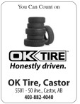 You Can Count on  OK TIRE