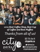 City Perks Coffeehouse Voted Best Coffee Shop