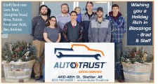 Wishing you a Holiday Rich in Blessings from Autotrust