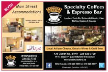 QUEENS BAKERY & ACCOMMODATIONS  Specialty Coffees & Espresso Bar
