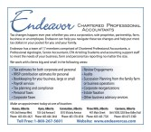 Endeavor CHARTERED PROFESSIONAL ACCOUNTANTS
