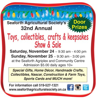 Seaforth Agricultural Society's 32nd Annual