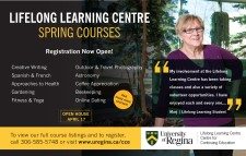 LIFELONG LEARNING CENTRE SPRING COURSES