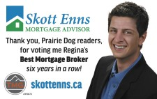 Thank You for voting SKott Enns for Best Mortgage Broker