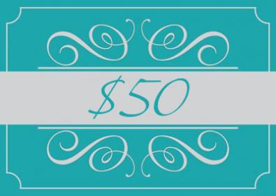 A Studio H Artist Group Gift Card for $50